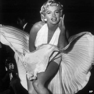 Marilyn Monroe in The Seven Year Itch (Sept 1954)