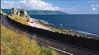 The Antrim Coast Road is a favourite with visitors