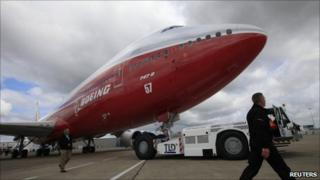 Boeing 747-8 Intercontinental jetliner