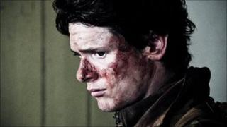 Jack O'Connell in the film