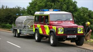 Jersey Fire Service hose appliance