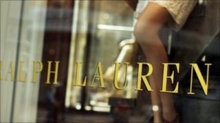 Ralph Lauren shop front