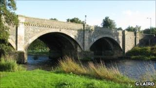 Peebles bridge