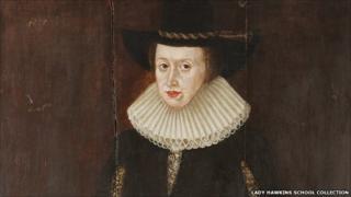 Portrait of Lady Hawkins