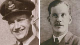 Jack Hamar (left) and Russel Hamer