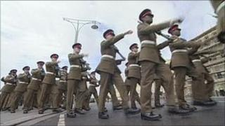 The Princess of Wales's Royal Regiment in Brighton