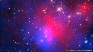 Pandora's cluster (NASA/ESA/ESO/CXC/D Coe/J Merten)