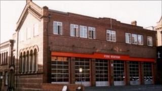 Clifford Street fire station, York.