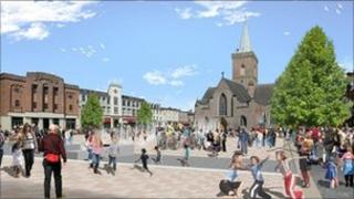 Civic square proposal
