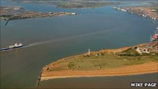 Landguard Point and Fort