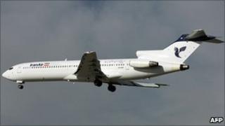 An Iran Air jet in a file photo