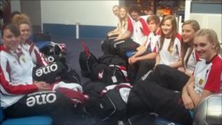 Jersey Island Games team