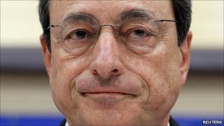 ECB head Mario Draghi
