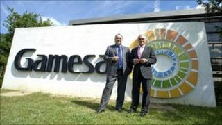 First Minister Alex Salmond meeting Games chief executive in Bilbao
