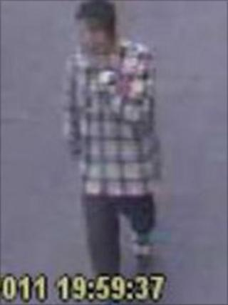 CCTV image of youth