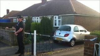 Vespers Close murder probe