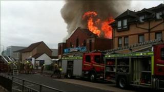 Whitburn fire