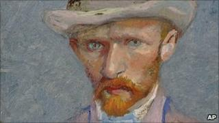 Self-portrait of Vincent van Gogh 1887