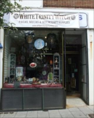 Witchcraft shop