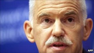 George Papandreou, file pic from 24 June 2011