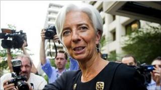 Former French Finance Minister Christine Lagarde