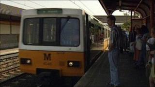The Metro in Newcastle