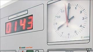 Operating theatre clock
