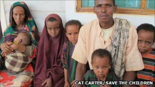 Somali refugees. Pic: Cat Carter/Save the Children