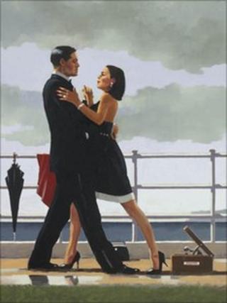 Jack Vettriano's Anniversary Waltz