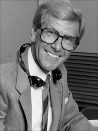 Bob Holness portrait