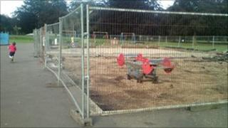 Closed play area
