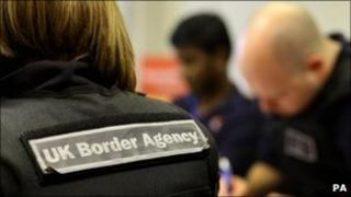 uk border agency staff generic pic