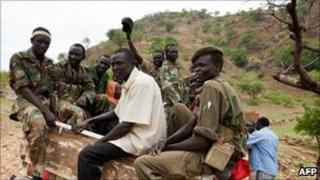 Former southern rebels in South Kordofan