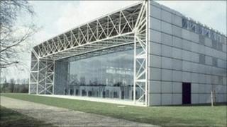 Sainsbury Visual Art Centre at the University of East Anglia