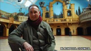 Carl Carrington from Blackpool Council
