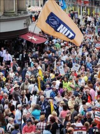 Newcastle rally