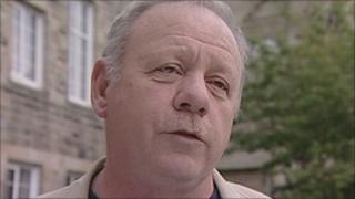 Rothbury parish Councillor Peter Dawson