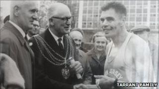 John Tarrant, world record breaking runner