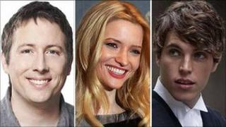 Joe Cornish, Talulah Riley and Tom Hughes