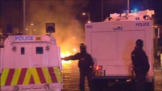 Trouble in east Belfast