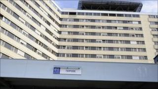 Tripode hospital in Bordeaux, where the E. coli patient died on 2 July