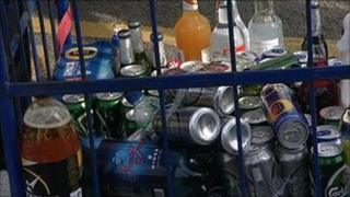 Newquay alcohol seized