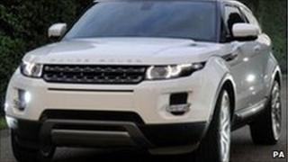 The new Range Rover which will be made at Halewood