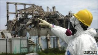 A reactor at the Fukushima Daiichi plant