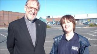 Keith Osmund-Smith and Vicky Braine