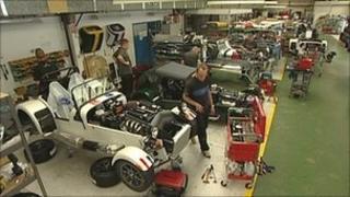Caterham Car factory