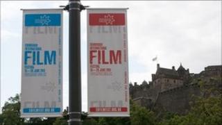 Edinburgh International Film Festival banners