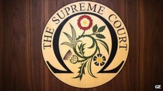 The emblem of the Supreme Court