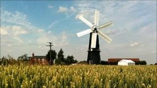 Sibsey Trader Windmill near Boston