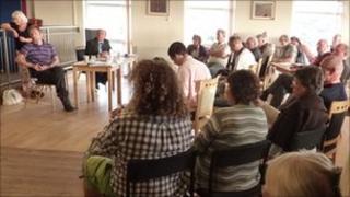 Public meeting at Newquay Tretherras